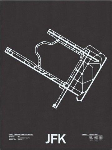 FFFFOUND! | Airport Runway Screen Prints - Minimalissimo #screenprint #poster