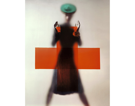 erwin blumenfeld #fashion #red #cross