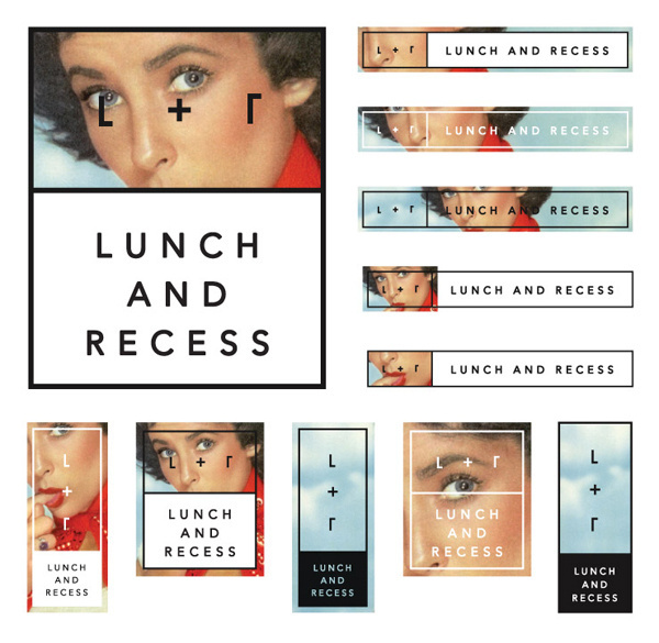 Lunch and Recess designed by Fuzzco #branding #fuzzco #photography #logo #typography