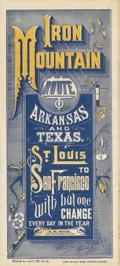 iron_mountain_rail.jpg (1086×2400) #railroad #advertisement #type #antique #typography