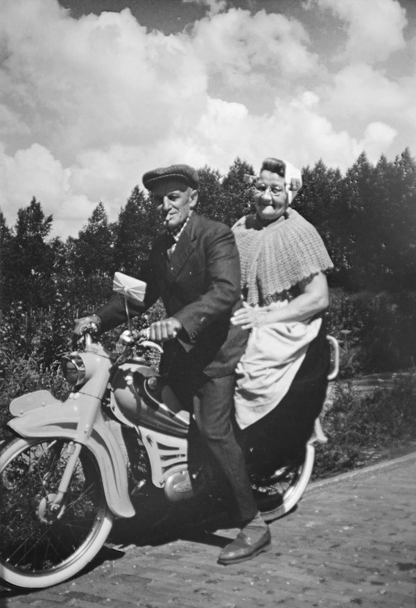 Hell's Angels #slide #photography #vintage #photograph