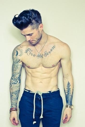ink's #tattoo #men