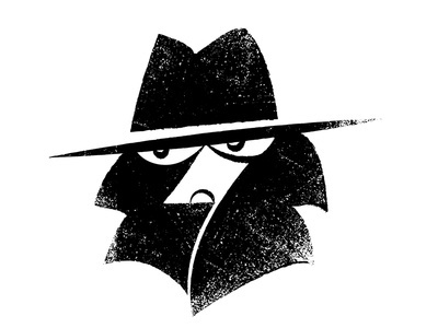 Detective #detective #olstein #james #illustration #logo