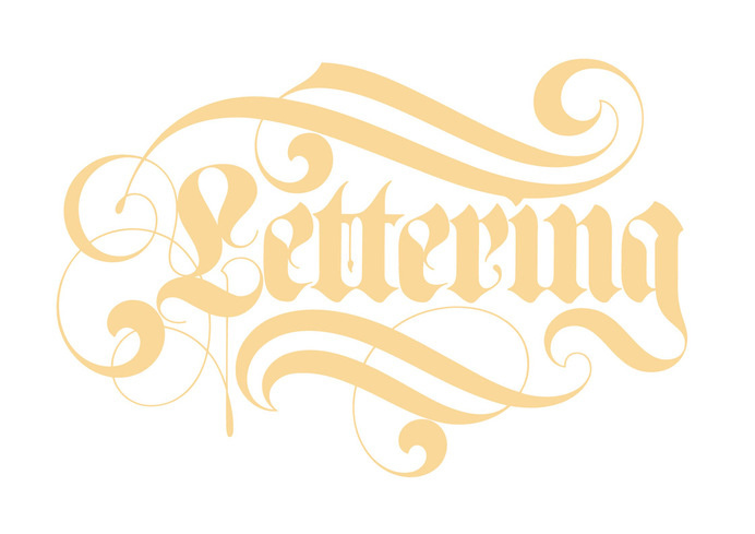 Ian Brignell – HeyThere #calligraphy #lettering #swash #custom #type #blackletter