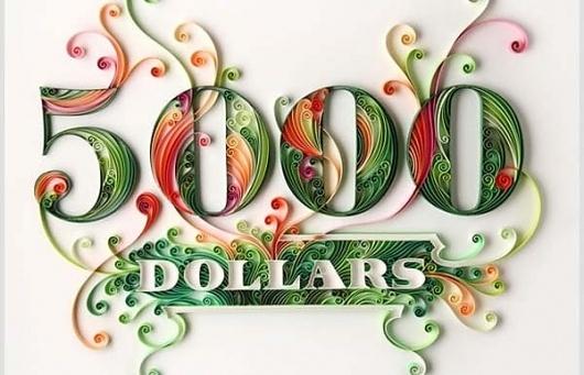Amazing Paper Typography   Abduzeedo   Graphic Design Inspiration and Photoshop Tutorials #paper #typography