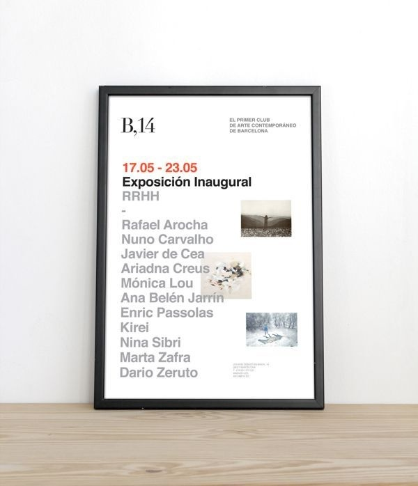 by espluga&associates #poster #exhibition #typography