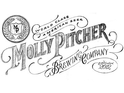Dribbble - Molly Pitcher by James T. Edmondson #type #lettering #hand #font