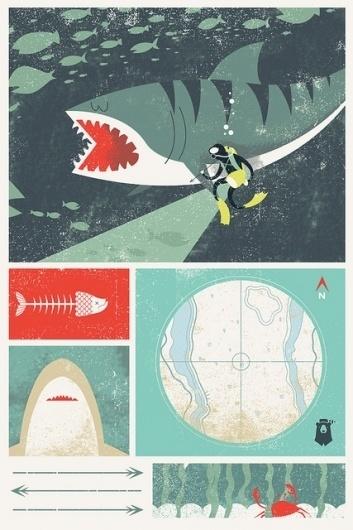 Day 6 - iPhone Wallpaper | Flickr - Photo Sharing! #fish #divers #shark #sharks #iphone #sand #blake #suarez #wallpaper #tiger