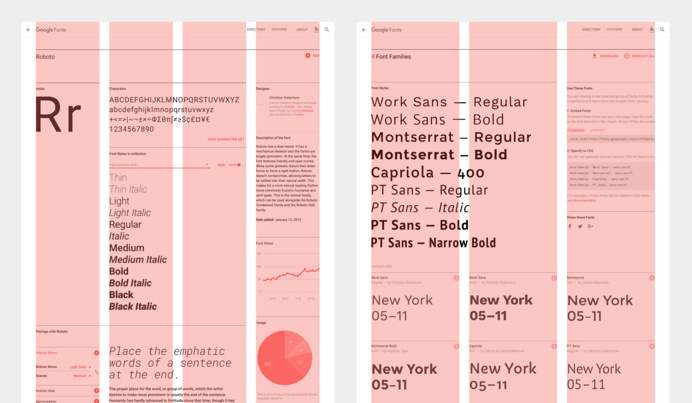 The new Google Fonts database is a design geek's paradise | The Verge