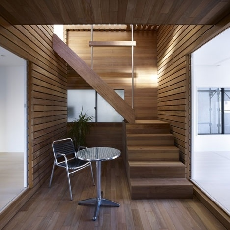 Dezeen » Blog Archive » Switch Box in House by Naf Architect & Design #architecture