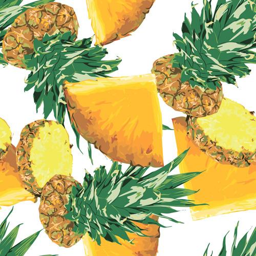 pineapple pattern #pattern #juicy #fruit #tropic #ukraine #poland #pineapple