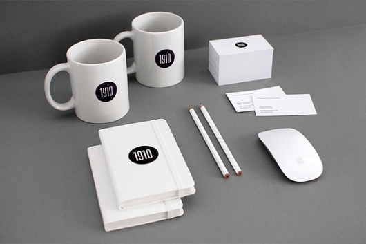 1910 Design & Communication on the Behance Network #design #graphic #identity #stationery #1910