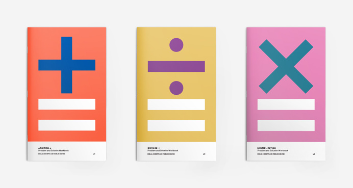 Mathematics Workbooks For Kids Design/Illustration by © mkn-design – Michael Nÿkamp