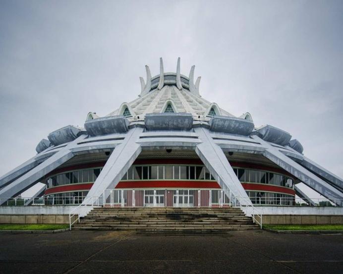 Vintage Socialist Architecture of North Korea by Raphael Olivier