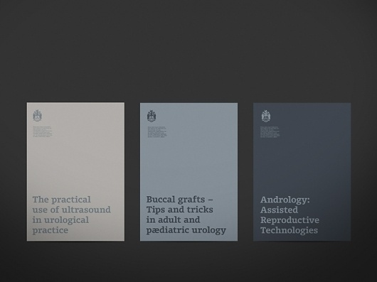 Urological Society - Nick Greening Graphic Designer #business #cards #branding