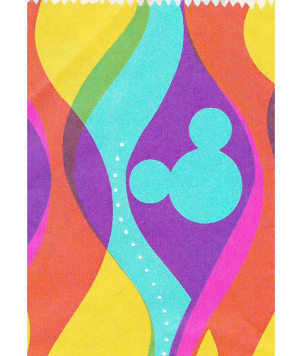 Disneyland Bag Detail 1960s #bag #60s #disneyland