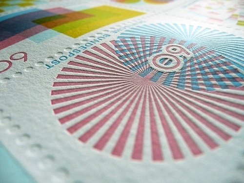 TinyShowcase Letterpress Print | Flickr - Photo Sharing! #stamps #letterpress