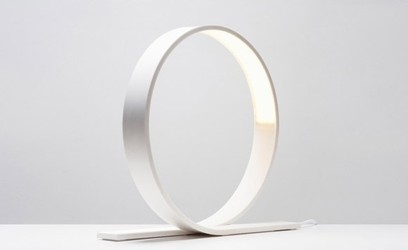Loop LED table lamp by Timo Niskanen | Lighting | Home #lamp #loop #design #lighting