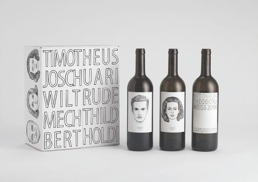 Jung von Matt | Ideas #packaging #type #illustration #wine