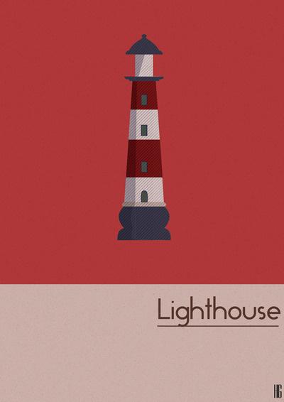 Lighthouse - Design by graphonaute #design #graphic #lighthouse #minimalism #illustration #building