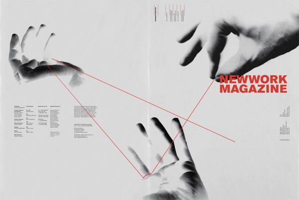 NEWWORK MAGAZINE, Issue 4 on Behance #print #design #newspaper #layout #editorial #magazine #typography