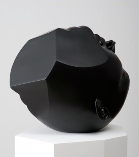 Tanya Batura « PICDIT #head #sculpture #black #art