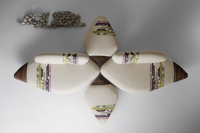 Botan Sofa by EMBTInspired by the peony flower - www.homeworlddesign. com (3) #sofa #design #home #furniture