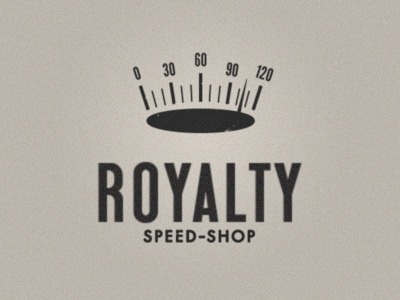 Dribbble - Royalty speed-shop by Greg Cuellar #type #crown #logo