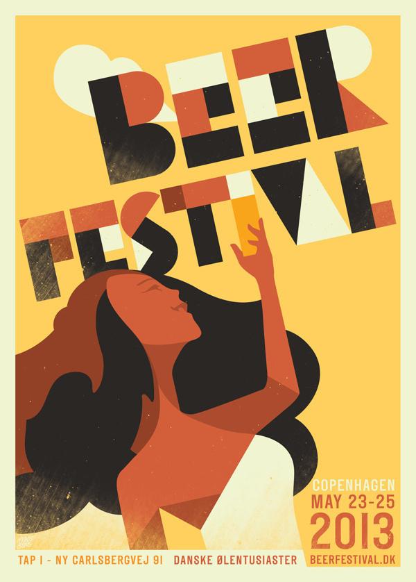Beer festival 2013 #beer #illustration #poster