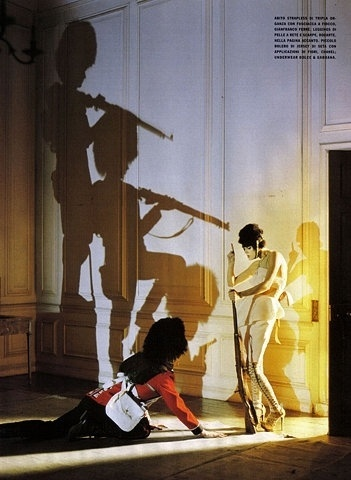 FFFFOUND! | The Fashion And The Fantasy | Paranaiv / Are Sundnes #weapon #tim #photography #walker