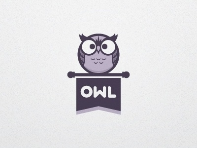 Dribbble - Owl Logo V1a by Jacob Greif