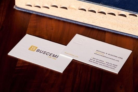 BUSCEMI LAW FIRM - Brian Lamb #letterpress #the #letter #b #law