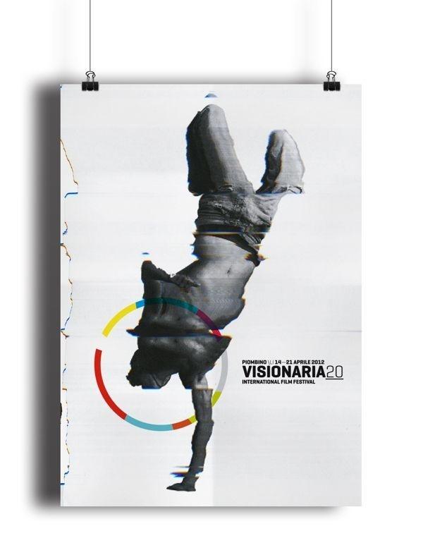 Visionaria20. International Film Festival by Mimmo Manes, via #Behance #canefantasma #visionaria