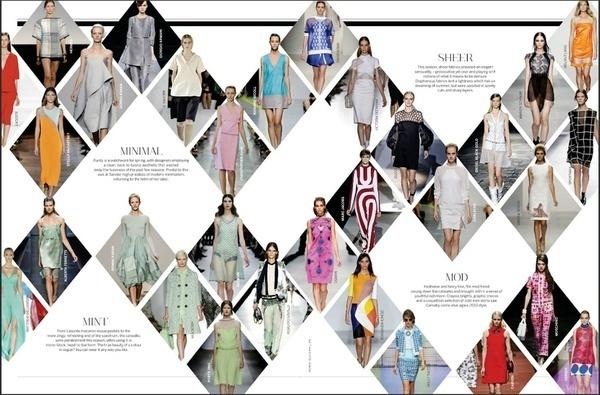 Editorial design. #mag #grid #fashion #editorial #magazine