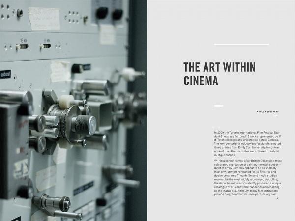 2010 ECUAD Grad Catalogue - Vitae Design #print