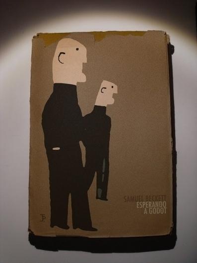 Esperando a Godot 1969 Joaquín Pertierra #cover #illustration #illu #book