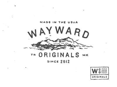 Wayward #logo #illustration #lockup