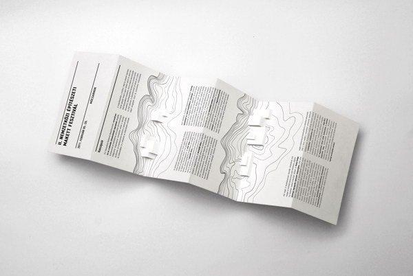 Architectural Model Festival Brochure #pop #up #popup #3d #brochure