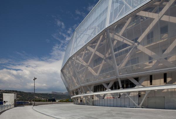 CJWHO ™ (Willmote Allianz Rivera, Aspremont, France by...) #france #design #stadium #soccer #aspremont #architecture