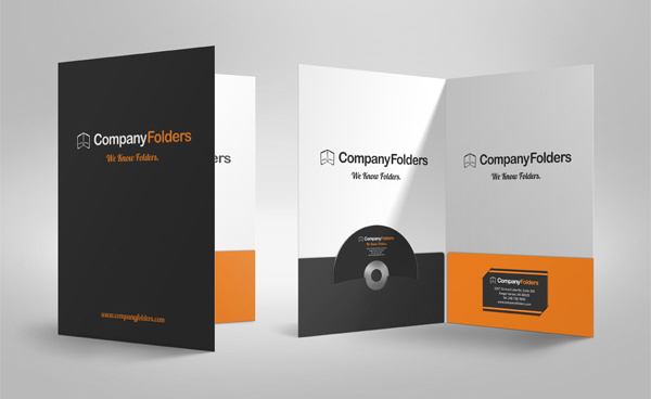 100 Presentation Folders by CompanyFolders.com | #presentation #folder #printing
