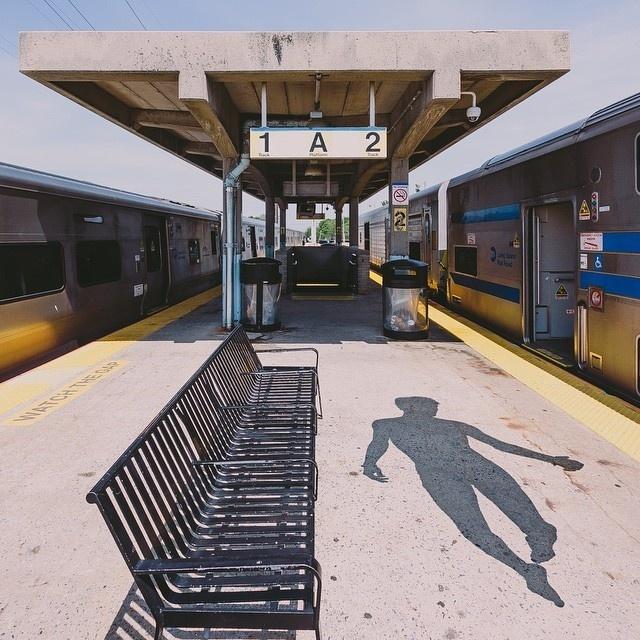 Train, Flying, Ghost, Silhouette, Shadow, Empty