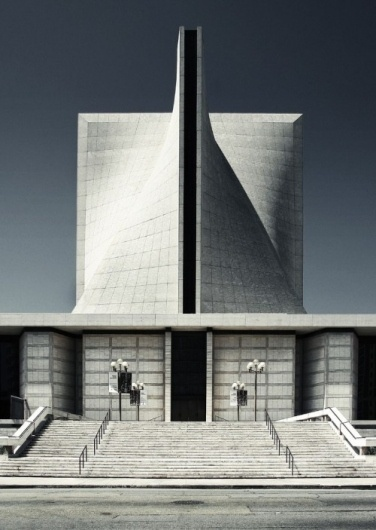 Architectural inspiration from flickr | MORPHOCODE #church #san #cathedral #architecture #francisco #nervi