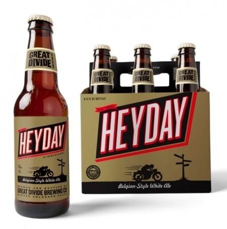 Great Divide Heyday   Oh Beautiful Beer #packaging #beer #label #bottle