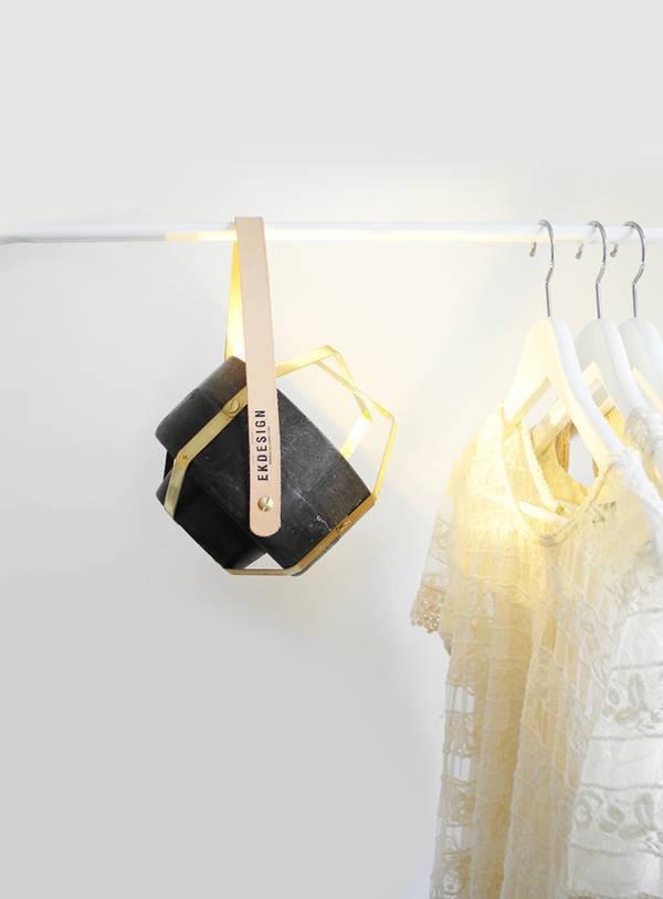 Wander Lamp by Katharina Eisenkoeck #lamp #minimalist #lighting #minimal