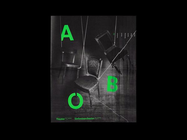 Bureau Collective – Theater Abozeitung #design #graphic #editorial #composition