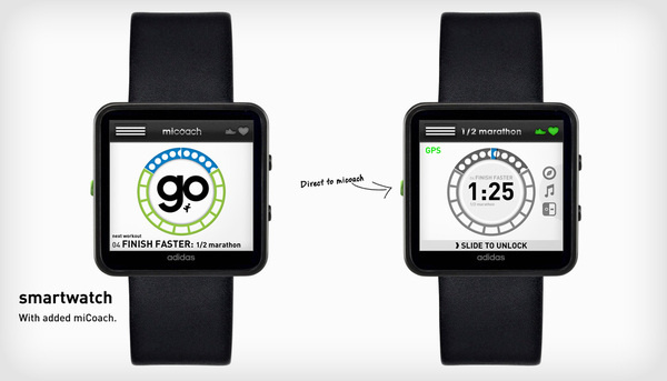 adidas smartwatch #mitime #smartwatch #adidas #micoach