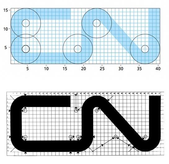 CN Logo Designed by Allan Fleming & CN Brand Guidelines #mark #allan #identity #logo #fleming