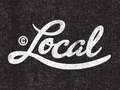 Dribbble - Local by Kendrick Kidd #type #script