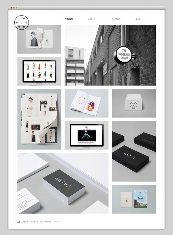 Longton #website #layout #design #web