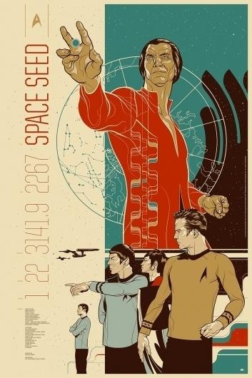 SPACESEEDFINAL.jpg (850×1275) #print #mondo #screen #trek #star